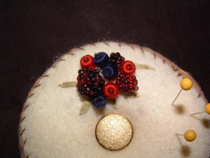 Beaded Berries Close Up