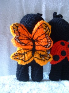 Butterfly Doll Wings
