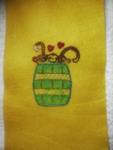 Sublime Stitching Monkey Barrel